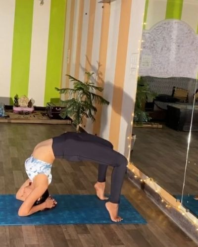Yoga weight loss challenge session 12