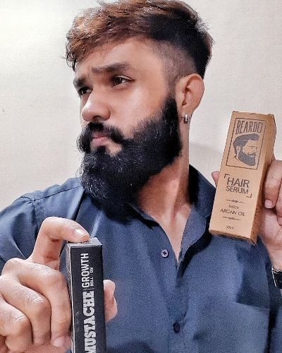 How to use Beardo Hair Serum and Mustache Growth Roll On.