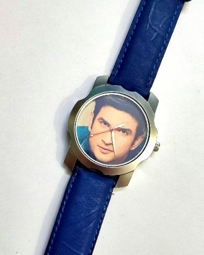 Sushant Singh Graphic Printed Watch