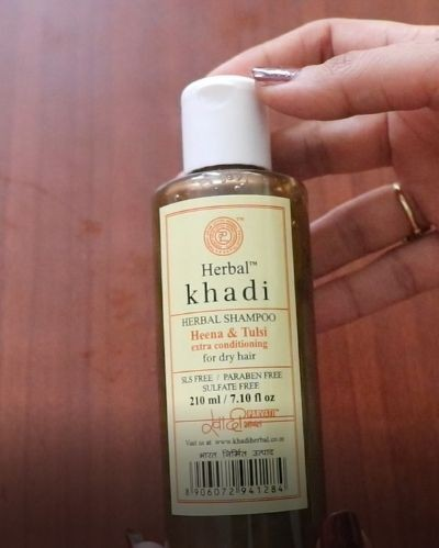 Shampoo for dull, dry and frizzy hair