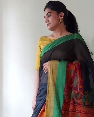 Style a saree in 3 ways !!