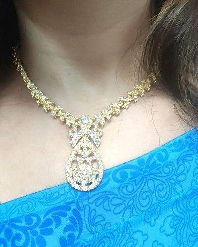 Stunning Necklace Set for Festive Look