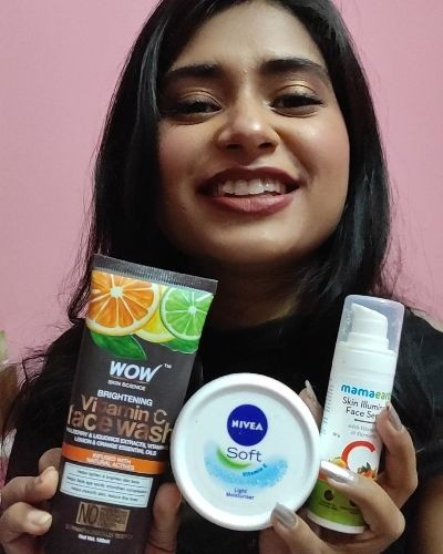 Daily skin care routine for healthy skin