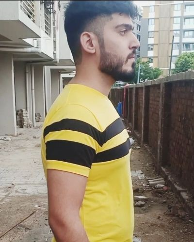 Casual Yellow T-shirt