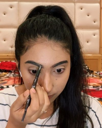 How to fill your brows tutorial