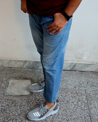 Stylish and Casual Grey Sneakers