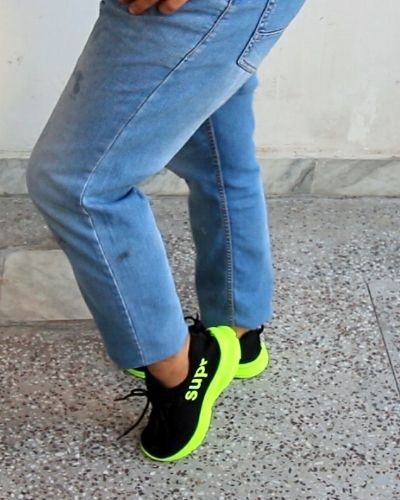 Elegant Canvas and Sports Shoes Combo
