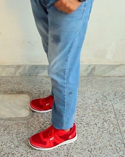Fashionable Red shoes