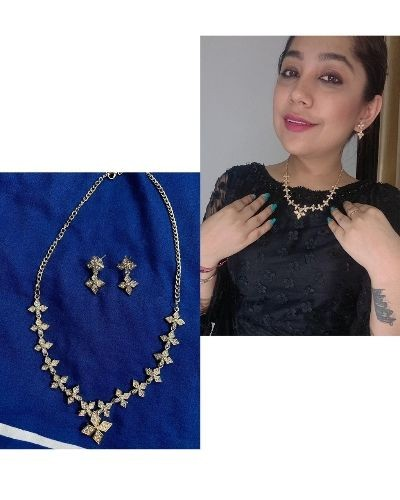 Beautiful necklaces with earrings