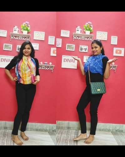 Sharing 5 simple and easy ways to style a dupatta. Look stylish with just one piece