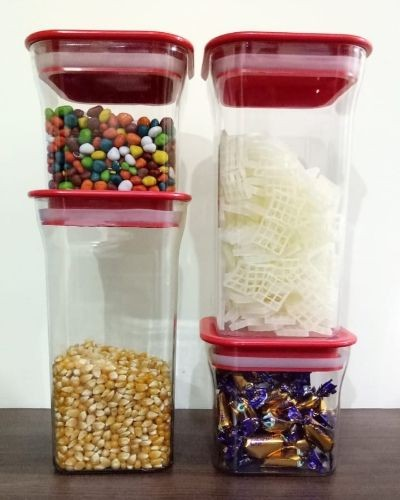 Air tight grocery and fridge containers set