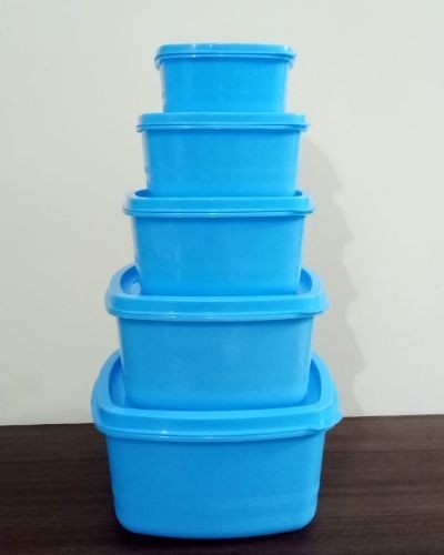 Storage bar and container set of 5
