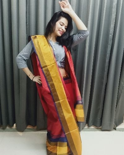 Get festive ready with this saree