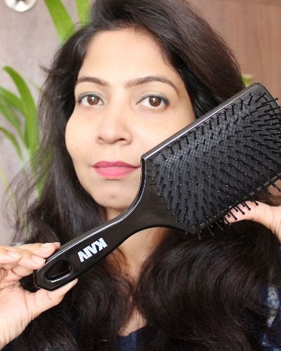 Best paddle hair brush from KAIV