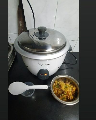 Cooking with electric cooker