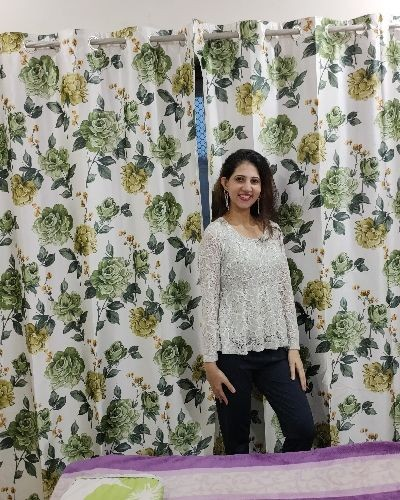 Beautiful Floral curtains