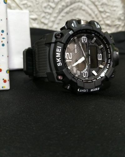 Black Sporty Watch