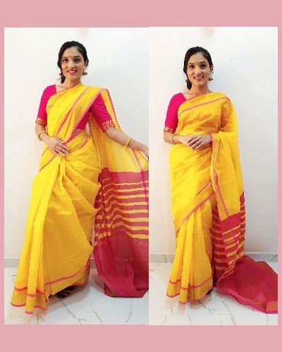 Simple and Beautiful Saree for festivals