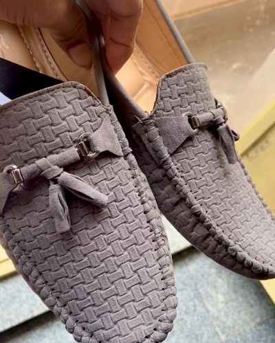 Fashionable Suede Leather Loafers