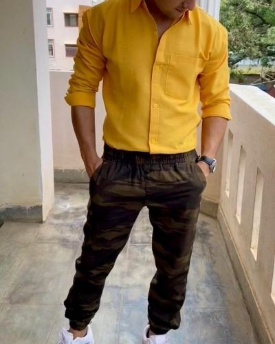 Trendy Yellow Shirt