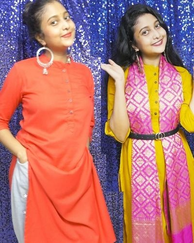 NG Fashion A line Solid Kurti Combo Review