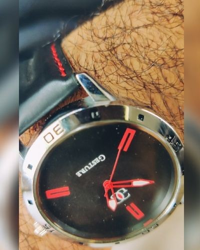 This watch is in fashion