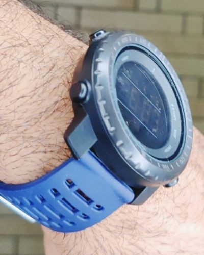 Sporty Blue Digital Watch
