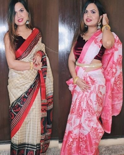 Saree in a Budget !