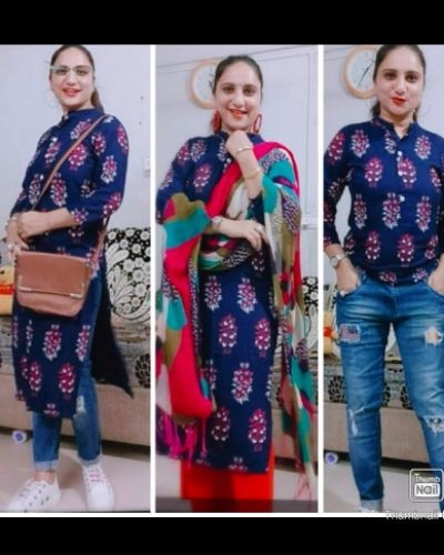 Style your kurta in different ways