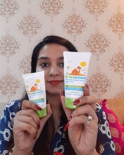Mamaearth Mineral Based Sunscreen For Your Baby