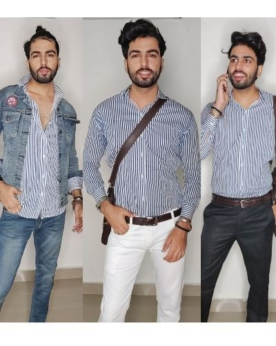 Different Ways To Style A Striped Shirt
