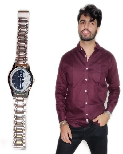 How to style a steel strap watch