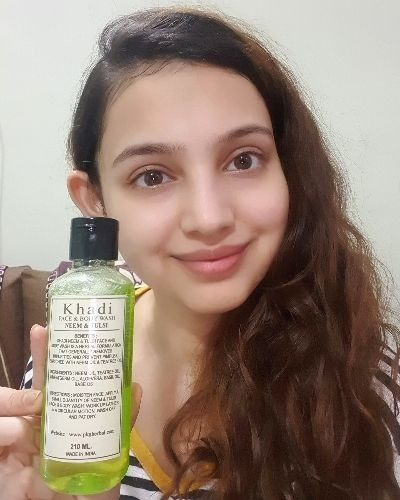 Review of Khadi Face and body wash Neem & Tulsi