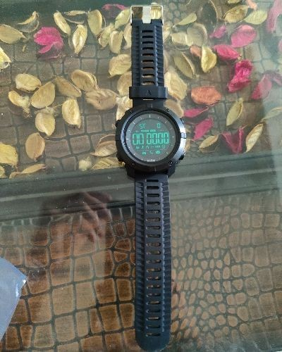 Sporty Black Digital Watch