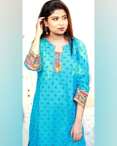Printed kurti for daily wear